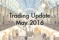 Trading Update May 2016