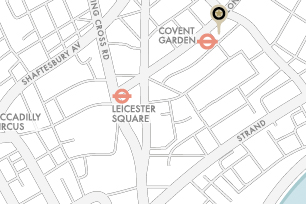 Covent Garden office map