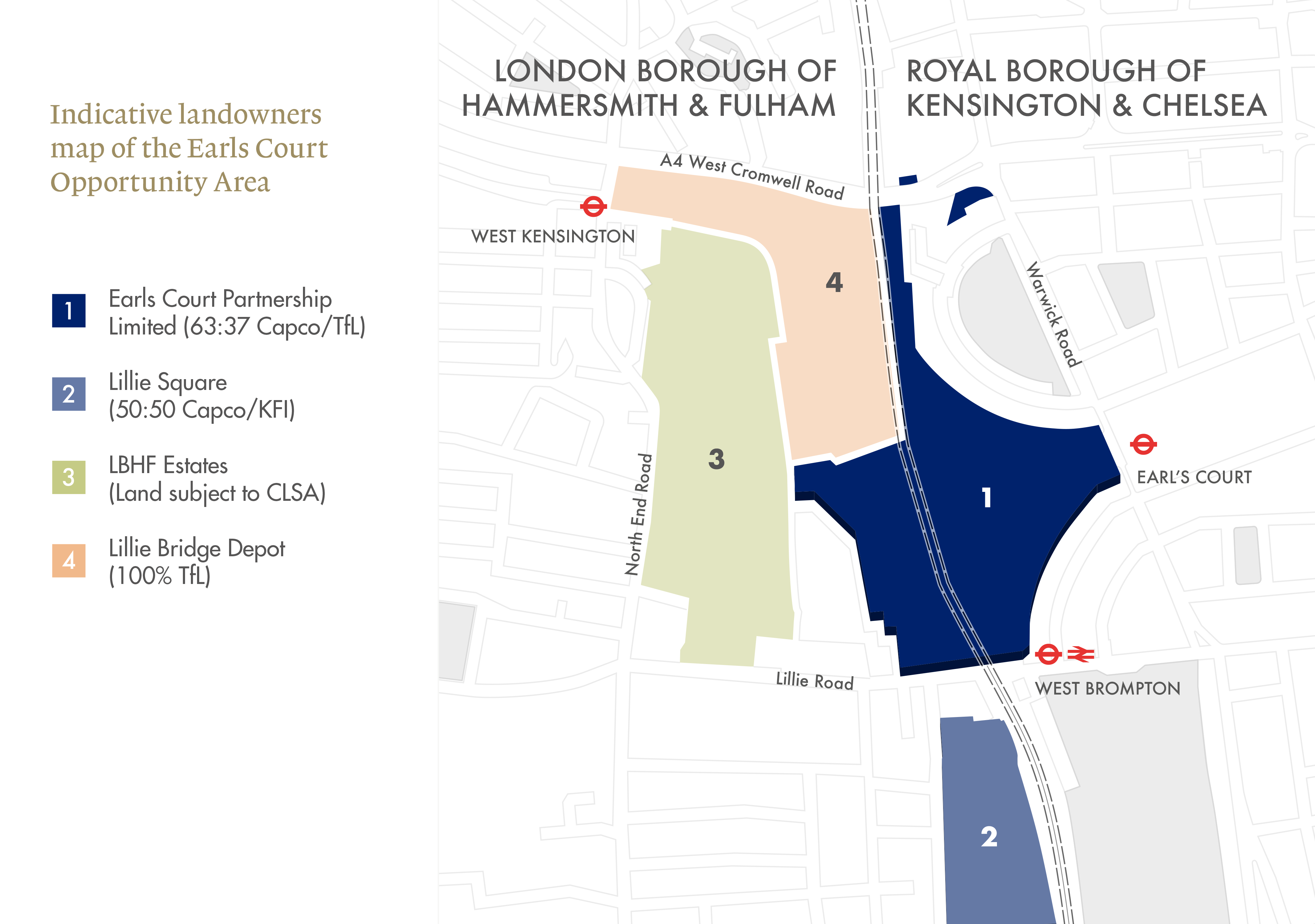 Earls court opportunity map