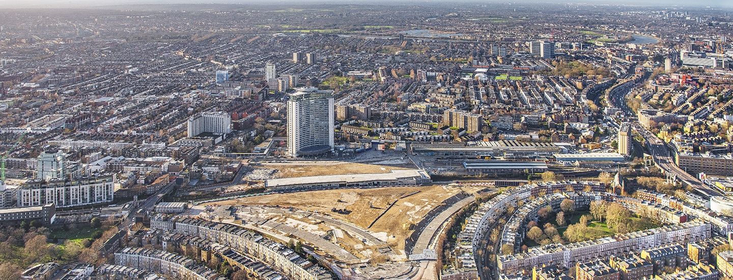 Earls Court aerial